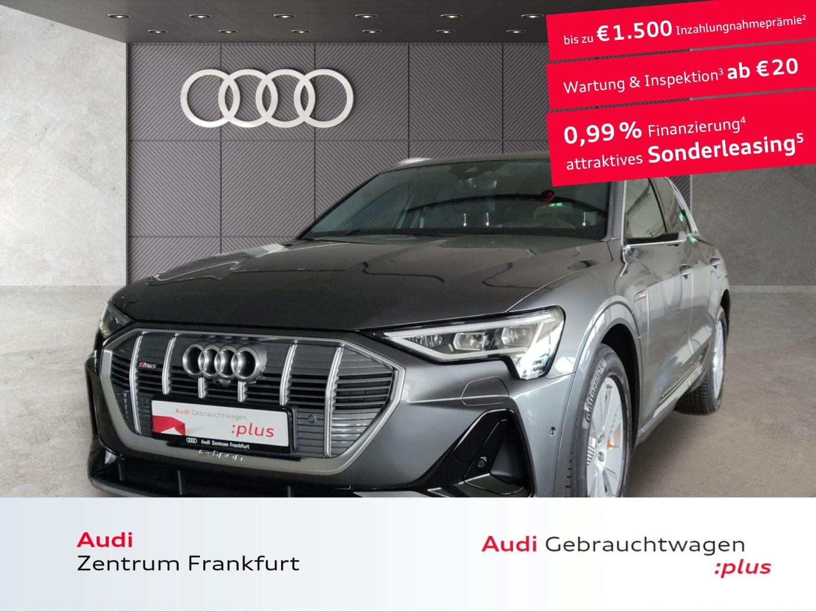 Audi e-tron 55 quattro S line MatrixLED B&O VC HuD DAB Navi, Jahr 2020, Elektro
