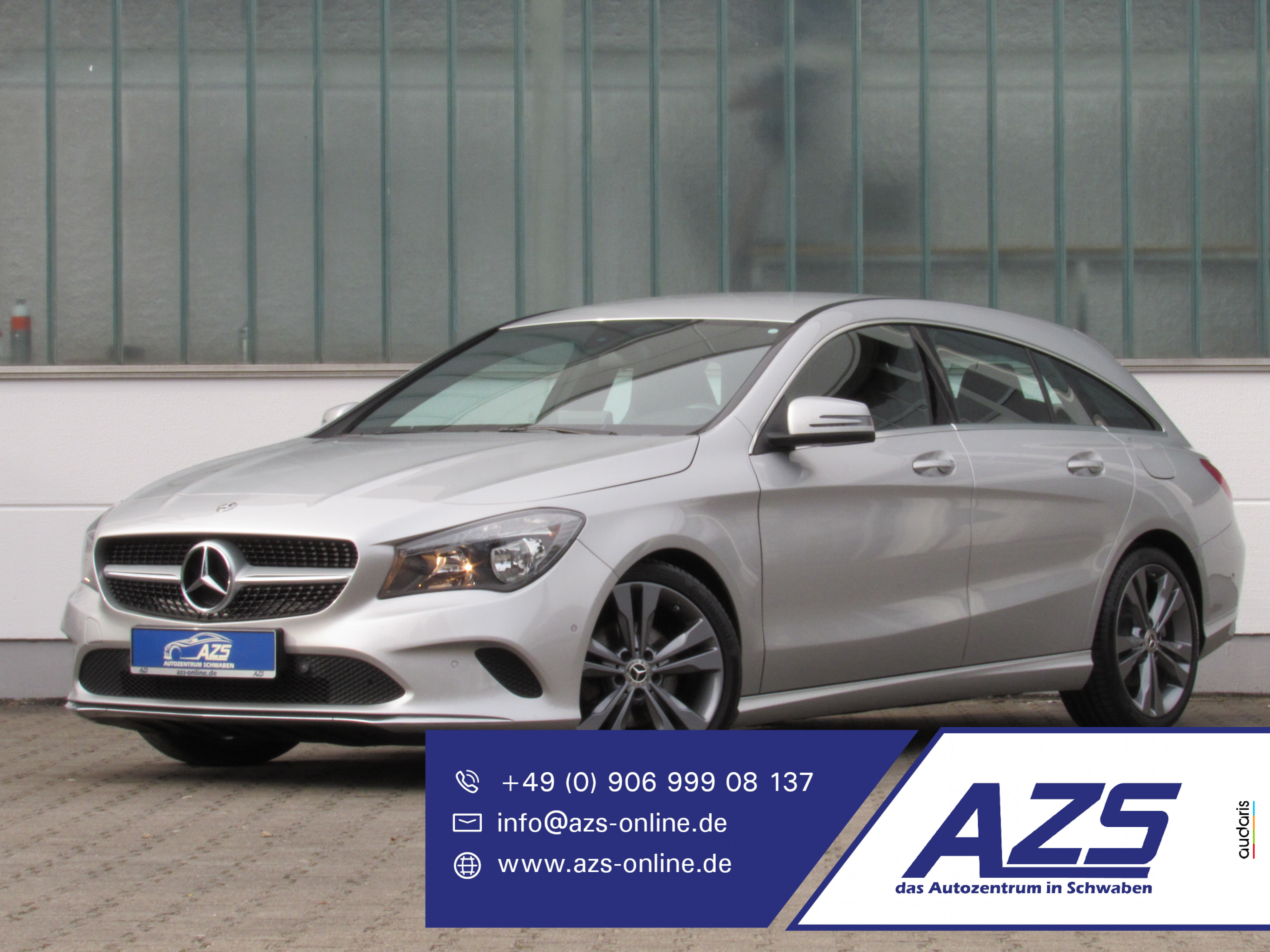 Mercedes-Benz CLA 200d SB Urban | AZS-SICHERER-ONLINE-KAUF, Jahr 2017, Diesel
