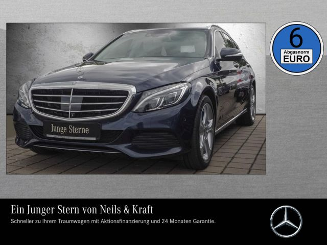 Mercedes-Benz C 350 e T EXCLUSIVE+AIRMATIC+ALLE ASSISTENZ+HUD+, Jahr 2014, hybrid
