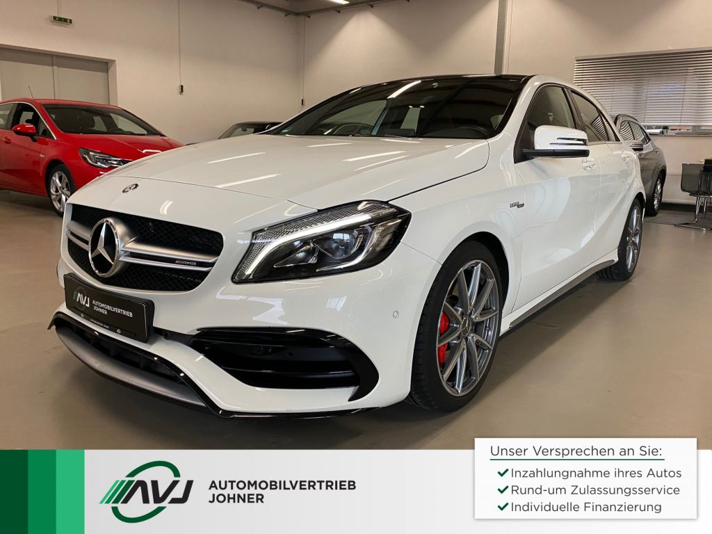 Mercedes-Benz AMG A 45 4Matic AMG Speedshift 7G-DCT | COMAND, Jahr 2016, Benzin