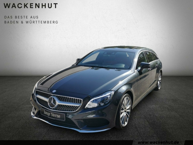 Mercedes-Benz CLS 500 4M SB AMG AIRM+MULTIB+DISTR+MEMORY+360, Jahr 2015, petrol