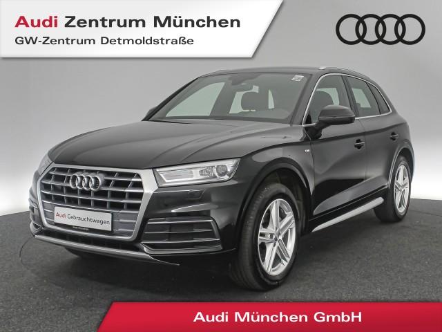 "Audi Q5 2.0 TDI Sport S line AHK Teilleder el.Sitze Navi Xenon 19"" 6-Gang, Jahr 2018, diesel"