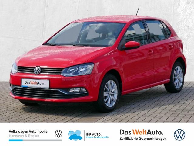 Volkswagen Polo 1.0 Comfortline Climatic PDC Sitzheizung MFA, Jahr 2017, Benzin