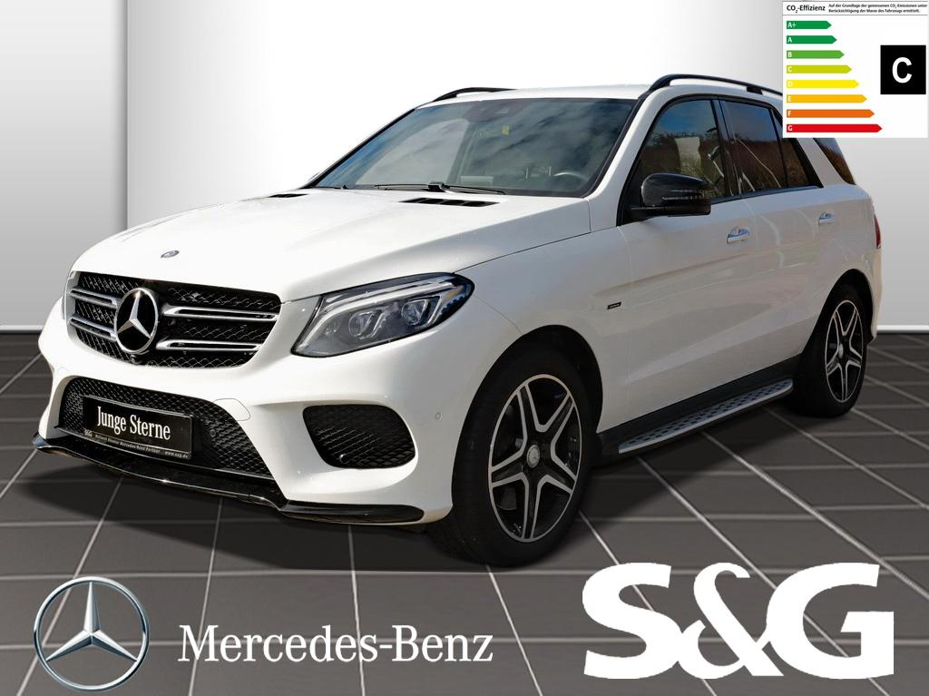 Mercedes-Benz GLE 450 AMG 4MATIC LED/Comand/Keyles-Go, Jahr 2016, Benzin