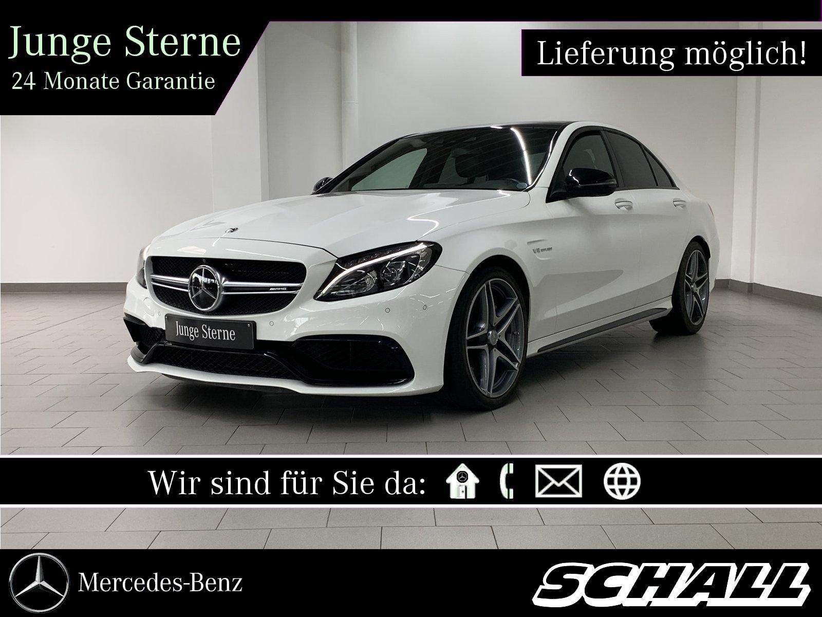 Mercedes-Benz C 63 AMG PERF.ABGASANL+NIGHT+DISTR+PANO+360°+LED, Jahr 2017, Benzin