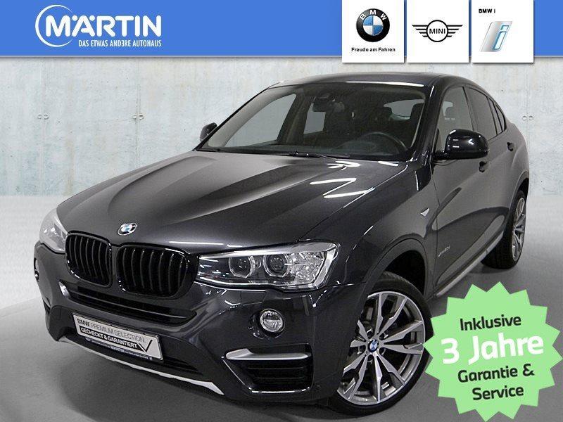 BMW X4 xDrive20d xLine *Head-Up*HK HiFi*Xenon*WLAN*, Jahr 2017, Diesel