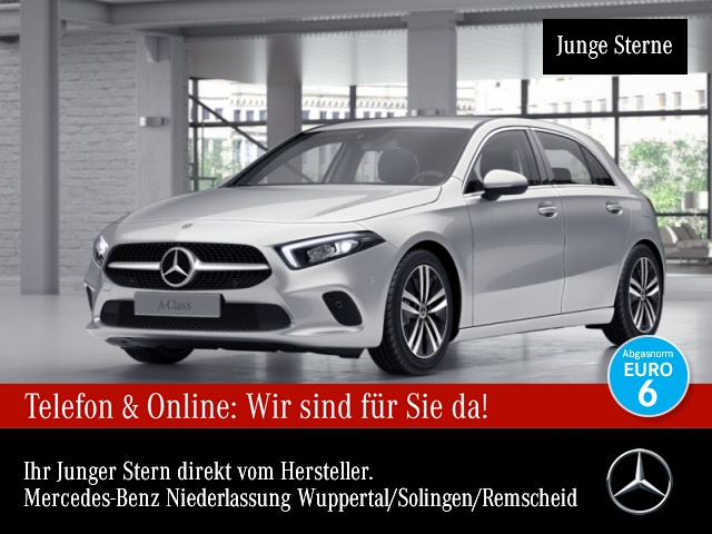 Mercedes-Benz A 200 Progressive Navi Premium LED Kamera PTS Temp, Jahr 2018, Benzin