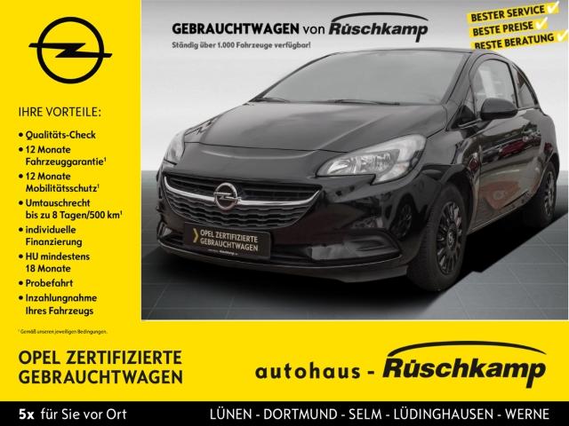 Opel Corsa E Selection 1.2 RDC Klima ESP Seitenairb. Scheckheft Gar. Radio TRC Airb ABS Servo, Jahr 2017, Benzin