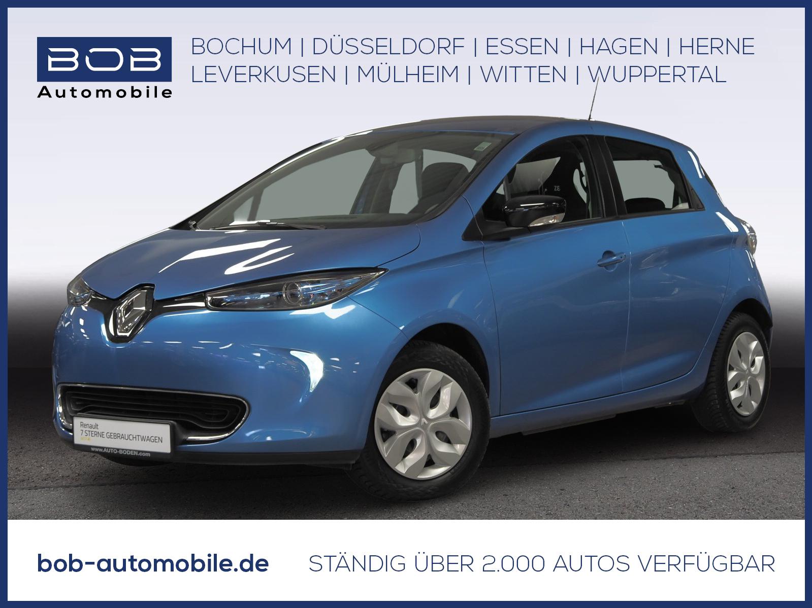 Renault ZOE LIFE R240 NAVI KLIMA PDC BT, Jahr 2017, Elektro