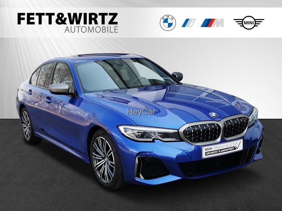 BMW M340d xDrive Limousine AHK HUD Laser DAB Leder, Jahr 2020, Diesel