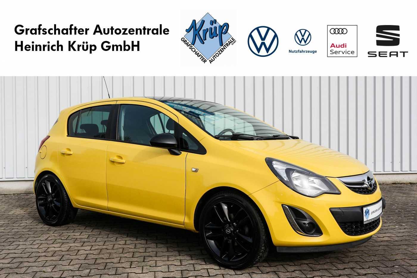 Opel Corsa 1.4 16V Color Edition *Navi*, Jahr 2013, Benzin