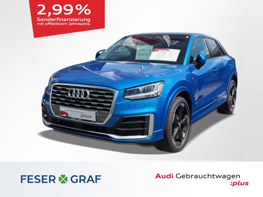 Audi Q2 S line 1.4 TFSI Navi/LED/ACC/Pano/B&O/Alu-19`, Jahr 2017, Benzin