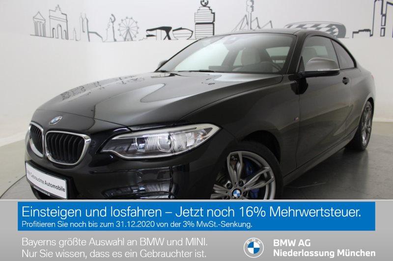 BMW M240i Coupé M Sportbr. HK HiFi DAB Var. Lenkung, Jahr 2017, Benzin