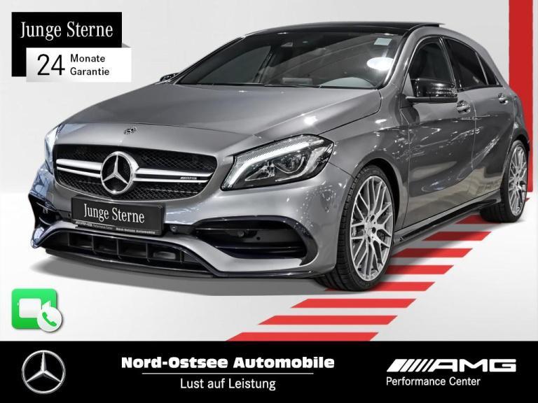 Mercedes-Benz A 45 AMG 4M COMAND Kamera Keyless Pano LED SHZ, Jahr 2017, Benzin