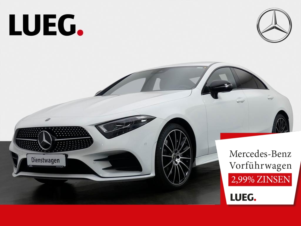 Mercedes-Benz CLS 300 d AMG+NIGHT+20''+WIDE+COM+SP-P+TOTW+KAM, Jahr 2020, Diesel