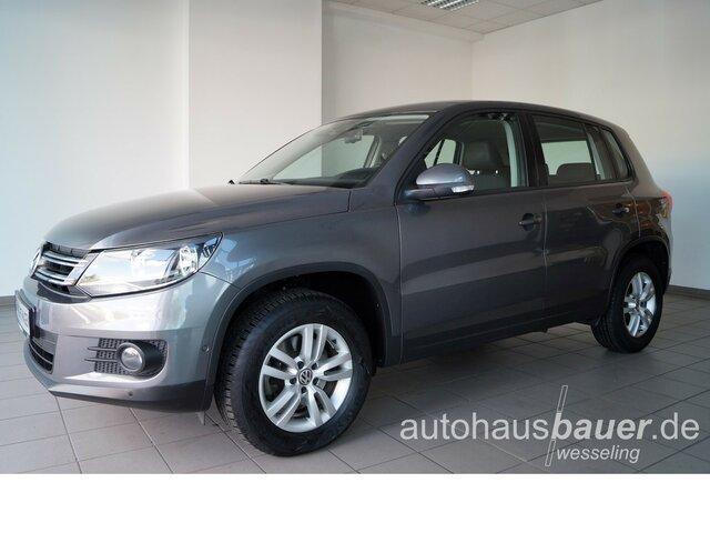 Volkswagen Tiguan Trend und Fun 1.4 TSI BMT *Park-Distance-, Jahr 2013, Benzin