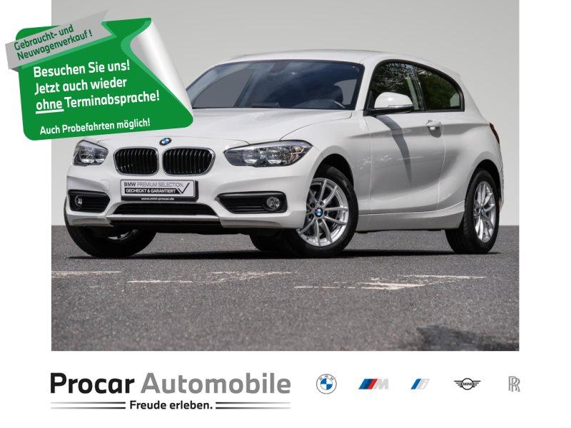 BMW 116d NAVI+SITZHEIZUNG+SPORTLENKRAD+2-ZONEN-KLIMA, Jahr 2018, Diesel