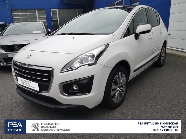 Peugeot 3008 Active PureTech 130 S&S, Jahr 2015, petrol