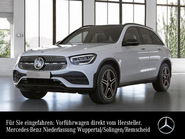 Mercedes-Benz GLC 200 4M AMG+Night+Pano+AHK+LED+Kamera+Spur+Totw, Jahr 2021, Benzin