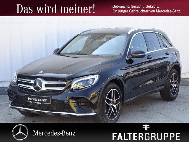 Mercedes-Benz GLC 300 4M Np70.258 AMG+COMAND+DISTR+BURM+STAND, Jahr 2018, Benzin