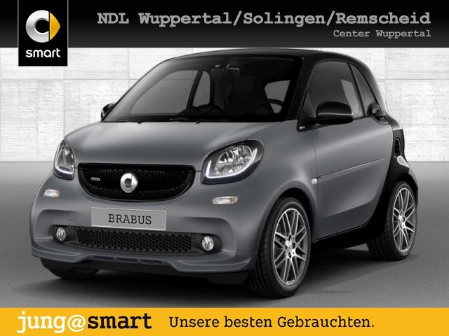 smart fortwo coupé 80kW BRABUS DCT cool&Media SHZ Pano, Jahr 2017, Benzin