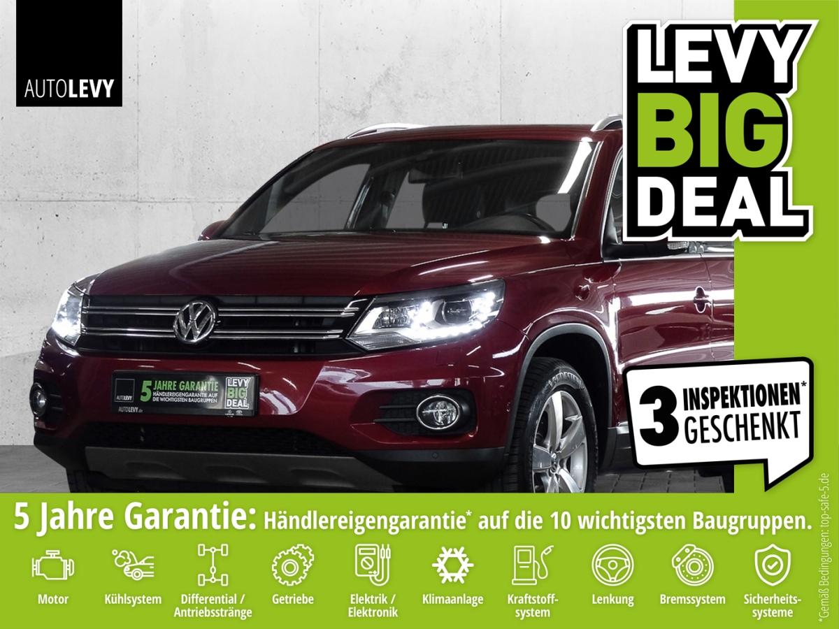 Volkswagen Tiguan 2.0 TDI 4Motion Track & Style *NAVI*PANO*, Jahr 2013, Diesel