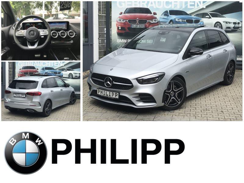 Mercedes-Benz B 220 AMG LED Pano DAB RFK AHK E-Sitze, Jahr 2019, Benzin
