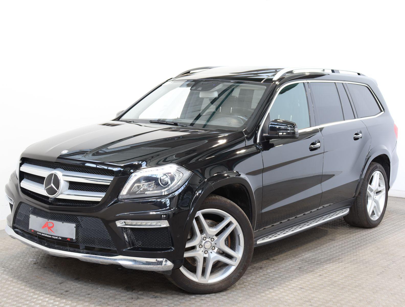 Mercedes-Benz GL 350 BT 4M AMG OFFROAD,NACHTSICHT,FOND-TV,AHK, Jahr 2014, Diesel