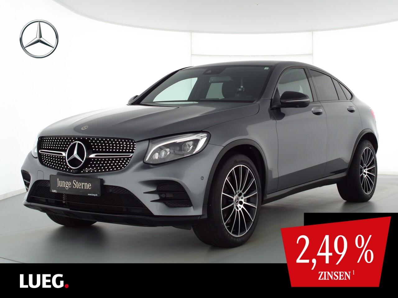 Mercedes-Benz GLC 250 4M AMG+Nav+Burm+LED-HP+20+KeyG+SpurP+360, Jahr 2018, Benzin