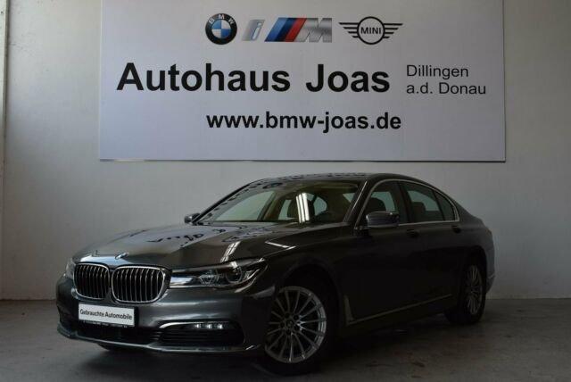 BMW 730d Limousine (Gestiksteuerung Head-Up HiFi LED, Jahr 2016, Diesel