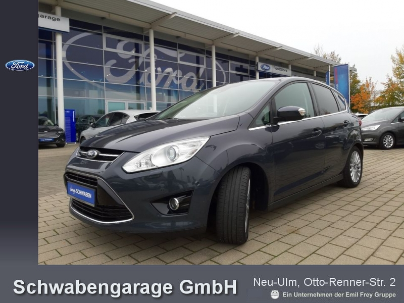 Ford C-MAX 1.6 EcoBoost *XENON*KLIMA*PDC*SHZ*ALU*, Jahr 2013, petrol