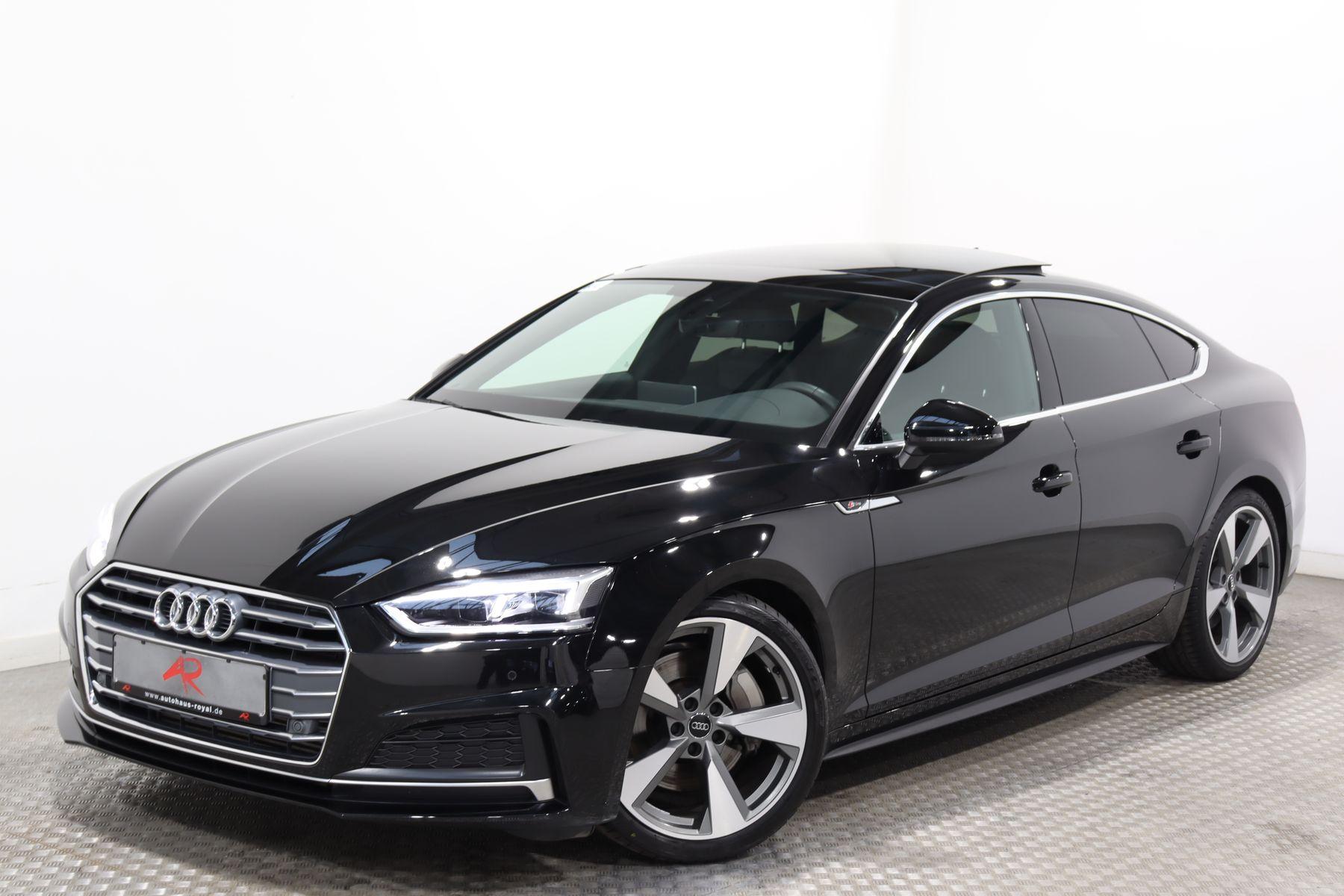 Audi A5 SB 2.0 TFSI 3x S LINE STANDHEIZ,KEYLESS,PANO, Jahr 2018, Benzin
