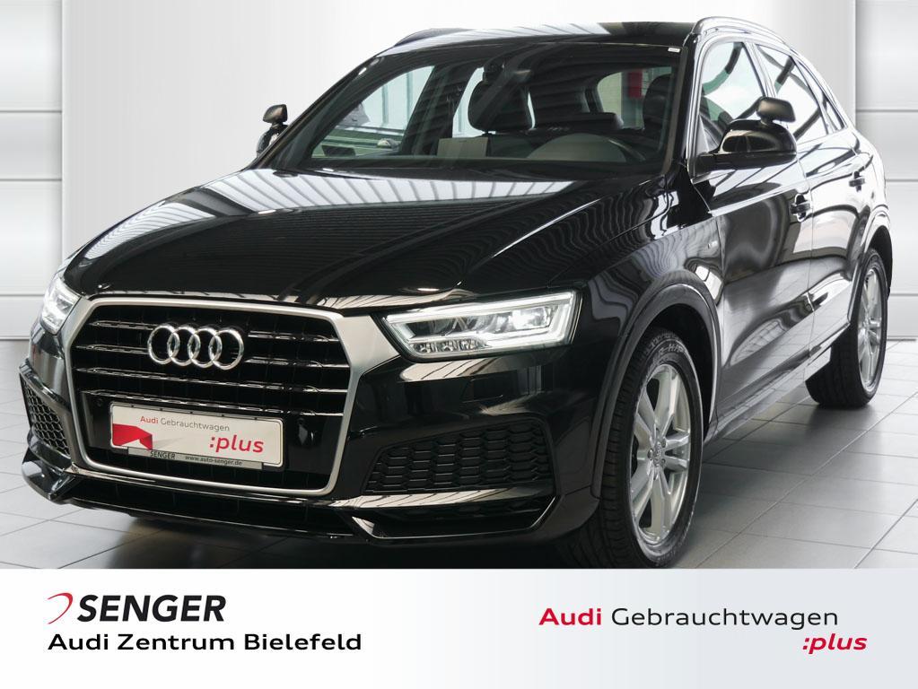 Audi Q3 2.0 TDI Sport Leder S line Selection AHK PDC, Jahr 2017, Diesel