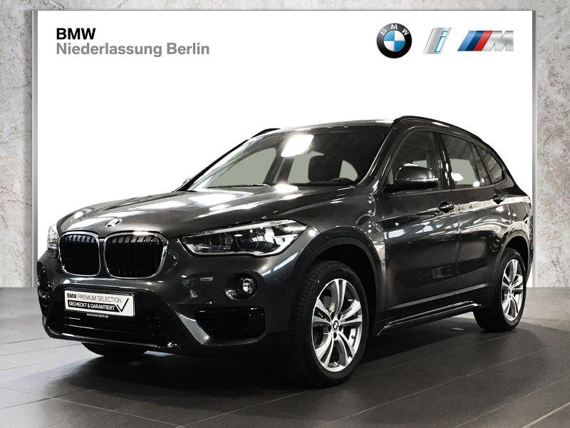 BMW X1 sDrive18i EU6 Aut. Sport Line LED Navi AHK, Jahr 2017, Benzin