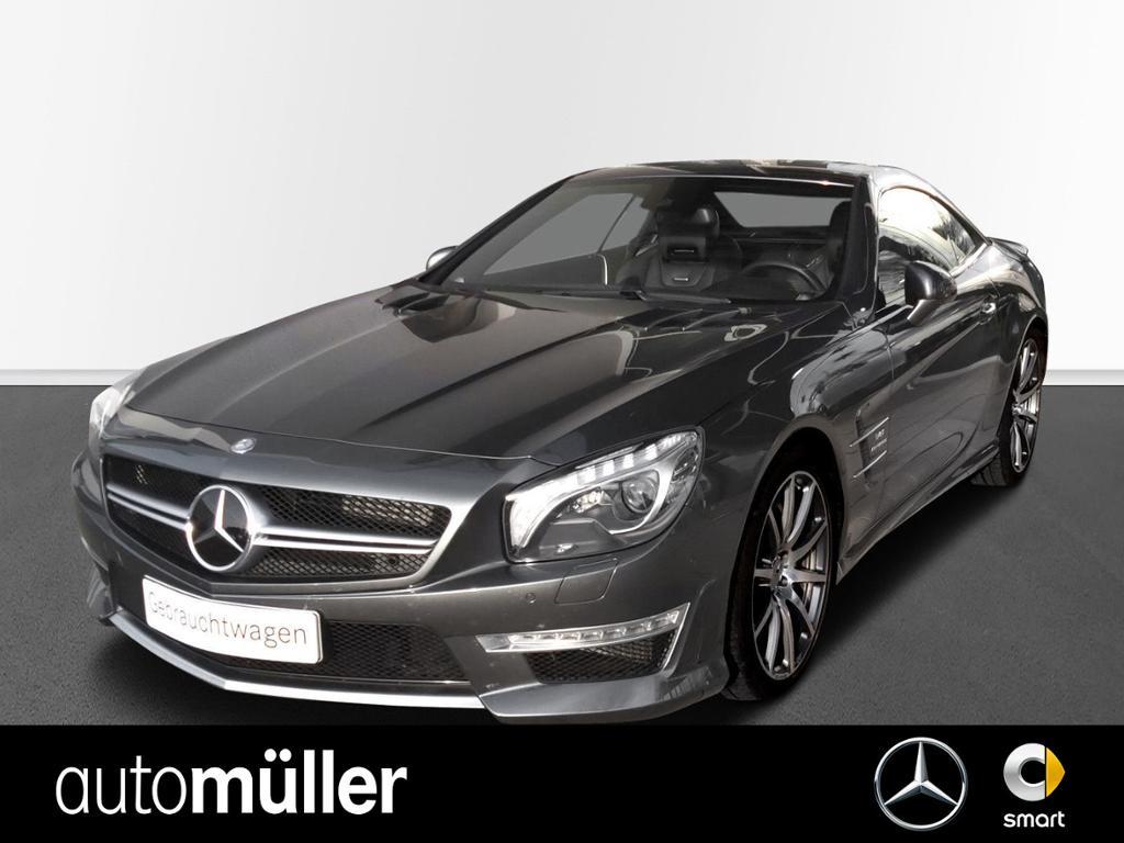 Mercedes-Benz SL 63 AMG Sitzklima+Designo+Drivers P., Jahr 2014, Benzin