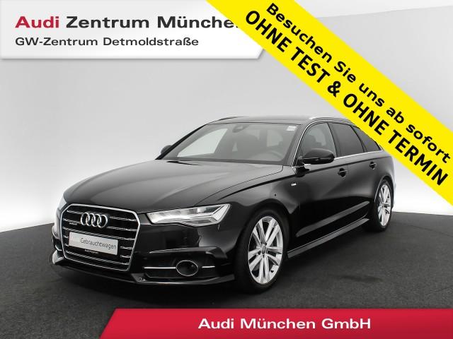 "Audi A6 Avant 3.0 TDI qu. S line AHK LED Navi Assistenz R-Kamera 19"" Leder S tronic, Jahr 2018, diesel"