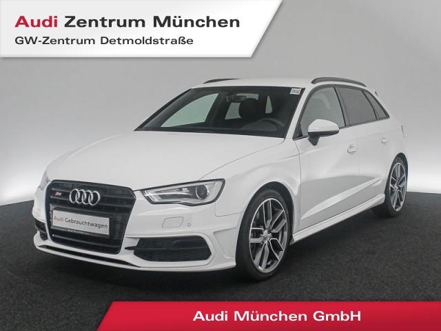 "Audi S3 Sportback 2.0 TFSI qu. Leder Navi Xenon PDCplus 18"" 6-Gang, Jahr 2016, petrol"