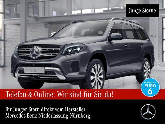 Mercedes-Benz GLS 500 4M 360° Stdhzg Pano Distr. COMAND ILS LED, Jahr 2017, Benzin