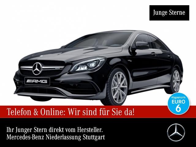 Mercedes-Benz CLA 45 4MATIC Coupé Sportpaket Navi LED Klima, Jahr 2016, Benzin