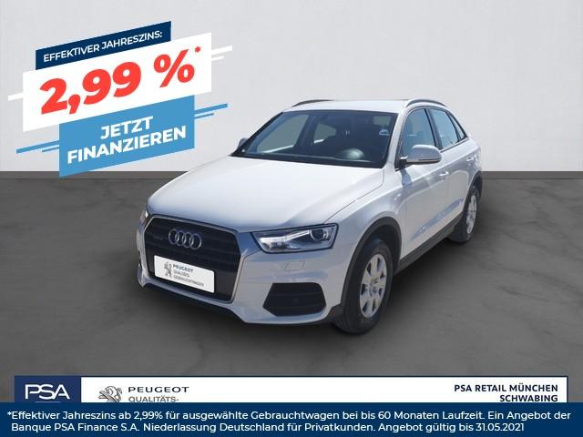 Audi Q3 2.0 TFSI quattro S tronic AHK Einparkhilfe vo + hi, Jahr 2016, Benzin