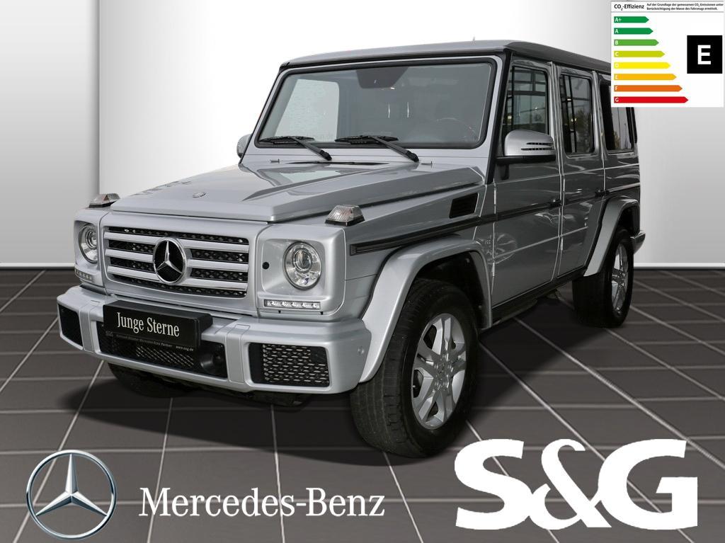 Mercedes-Benz G 500 Comand/AHK/Distronic/Parktronic/Sitzheizu, Jahr 2016, petrol