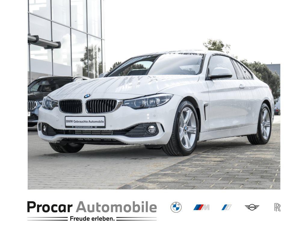 BMW 430i Coupé Aut. Navi LED Klimaaut. Leder Glsd., Jahr 2018, Benzin