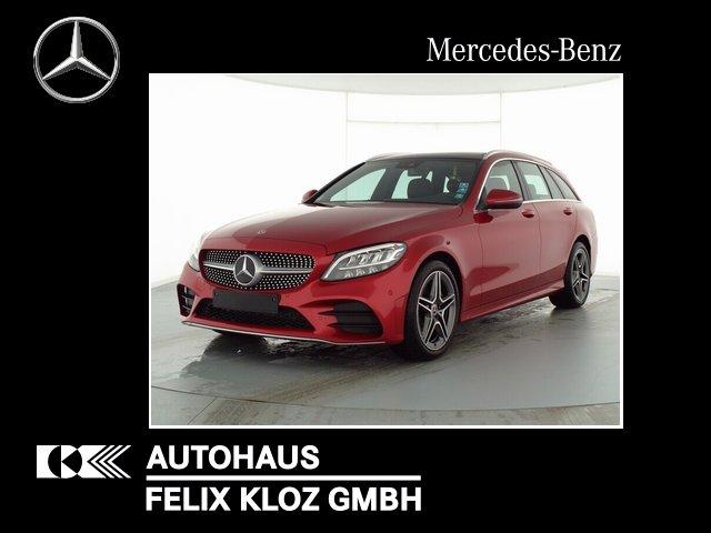 Mercedes-Benz C 200 T AMG 9G Panodach Navi-Premium Kamera LED, Jahr 2019, Benzin