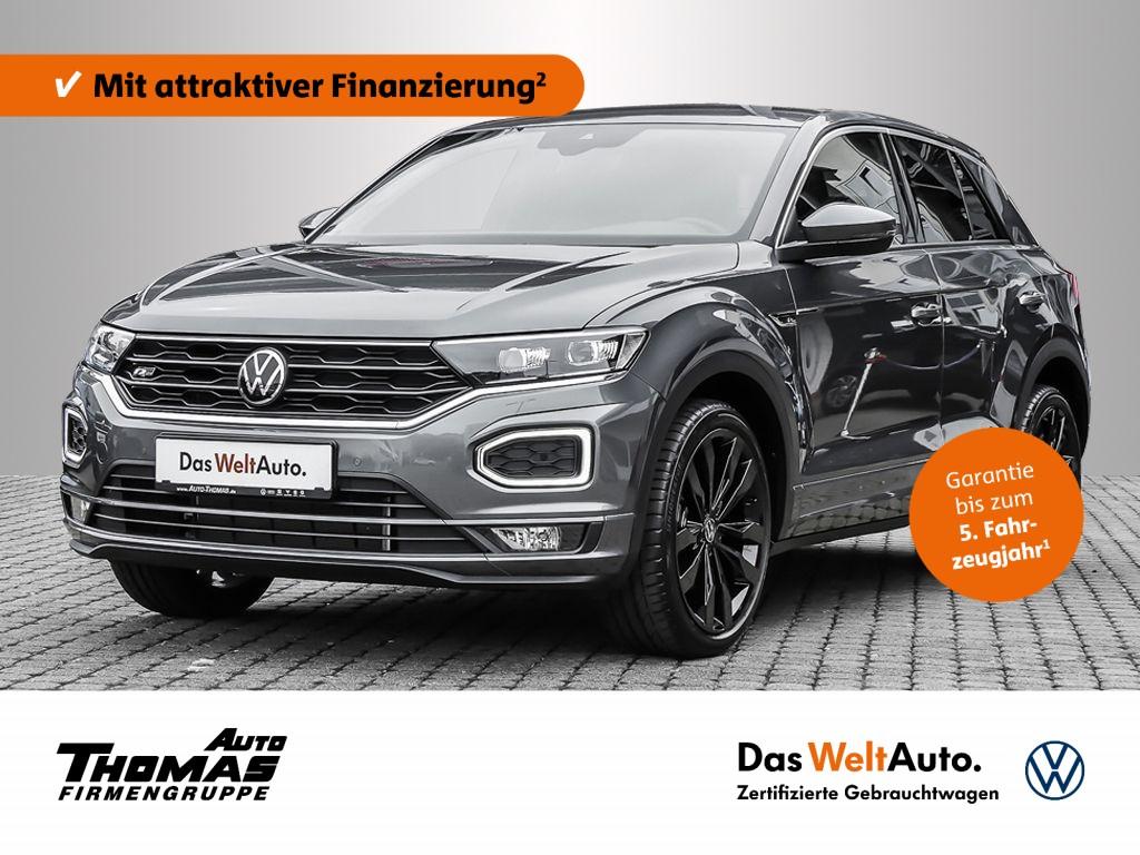 "Volkswagen T-Roc ""Sport"" R-Line 1.5 TSI DSG LED+NAVI+ACC, Jahr 2021, petrol"