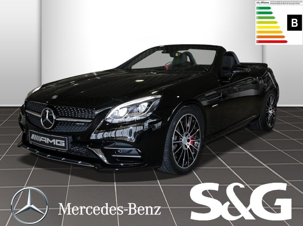 Mercedes-Benz SLC 43 AMG Comand/RüKa/Distronic/LED/Harman/Key, Jahr 2017, Benzin