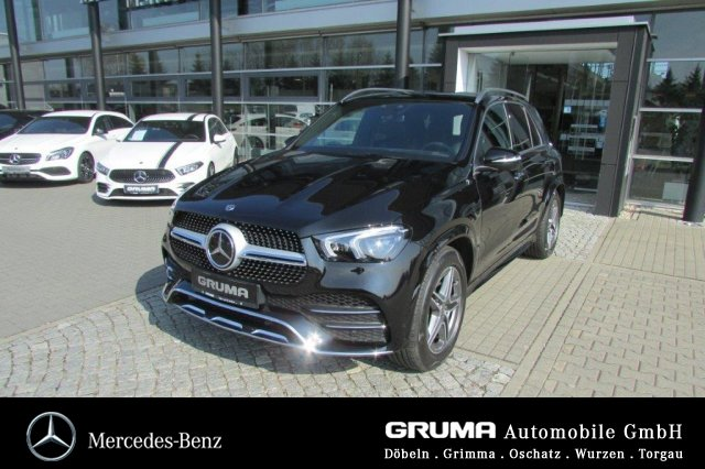 Mercedes-Benz GLE 300 d 4M AMG+PANO+360+MBUX+ADS+AHZV+EASYPACK, Jahr 2018, Diesel