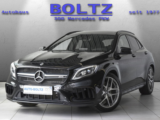 Mercedes-Benz GLA 45 AMG 4M Night Comand Pano Kamera LED-HP, Jahr 2018, Benzin