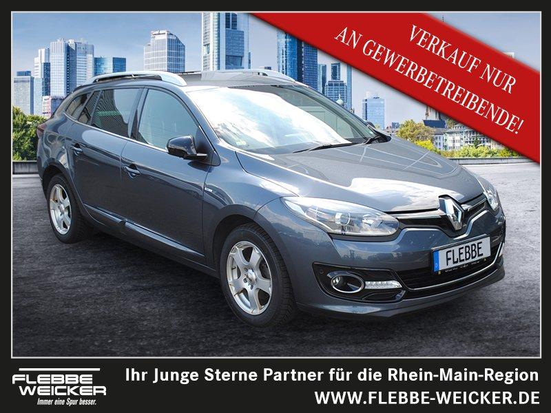Renault Megane 1.2 TCe 130+BOSE ED.+GRANDTOUR+NAVI+R-KA., Jahr 2015, Benzin