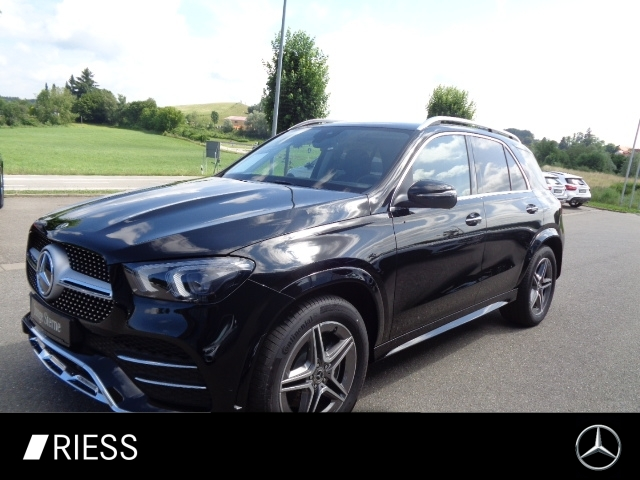 Mercedes-Benz GLE 300 d 4M AMG+AHK+Kamera+LED+PTS+DAB+Wide+SH, Jahr 2021, Diesel