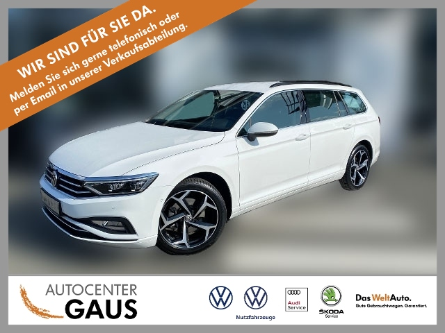 Volkswagen Passat Var. Business 2.0 TSI LED Navi ACC Kamera, Jahr 2019, Benzin